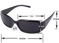 Fashion best men eyeglasses - Best price Unisex Vision Care Pinhole Glasses Eye Exercise Eyesight Improve Pin Hole Eyeglasses Black