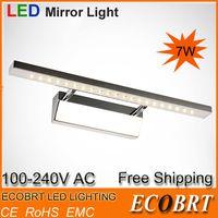 Wholesale Modern High Quality W W W LED Mirror Lighting stainless steel bathroom Light CE amp ROHS mm Bathroom Mirror Lighting