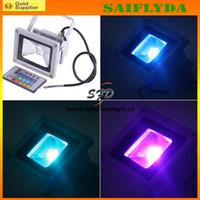 Wholesale 10W Waterproof Floodlight Lamp RGB LED Flood Light Outdoor LED Flood Lamp V V