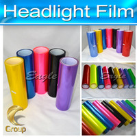 aluminum sheet size - Headlight Film Custome Changing Color Sticker Size m x m Dropshipping