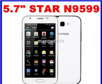 5.7 Android 1G Star Ulefone N9599 Note 3 5.7 Inch MTK6582 Quad Core Android 4.2 IPS 1280X720 1GB 8GB 8MP Stylus Pen Dual Sim 3G Mobile Phone