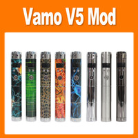 Vamo V5 Mechanical Mod V5 Battery Body Variable Voltage Mod ...