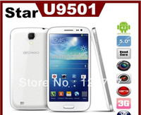 5.0 Android 1G 2014 Star Ulefone U9501 S4 I9500 5 Inch MTK6582 Quad Core Android 4.2 IPS 1280X720 1GB 8GB 8MP 2 Sim 3G Cell Phone