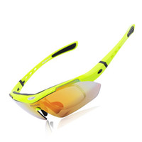Wholesale New WOLFBIKE MTB Road Mountain Cycling Riding Bicycle Bike UV400 Sports Sun Glasses Eyewear Racing Goggle Polarized Sunglasses lens