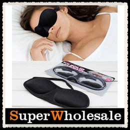 Wholesale Sponge Portable D Stereo Mask Shading Sleeping Eye Mask Relaxation Blindfold Sleep Aid Travel Rest