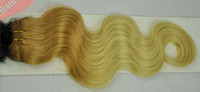 Cheap two tone hair weft Best Brazilian hair extension