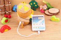 Emergency Chargers   20pcs lot New Arrival 2200 mAh Power Bank Plush Monkey Mobile Power Portale Mini External Battery Mini Cute Monkey Emergency power Bank