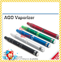 Electronic Cigarette Set Series sliver Ago G5 Pen Dry Herb Vaporizers Elctronic Cigarette Ago G5 Atomizer Clearomizer for Wind proof E-Cigarette