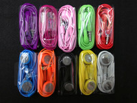Wholesale earphone with mic Colors Optional Headphone In ear Earphone headset for iphone4 for iphone4s vwith MIC