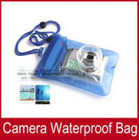 Wholesale 2pcs Waterproof Digital Camera Case For Nikon Canon Sony OLYMPUS Underwater Dry Bag Pouch Outdoor equipment