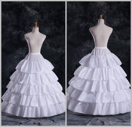 Wholesale 2014 Hot Sale Layered Ruffles Ball Gown Bridal Petticoats Wedding Underskirt Crinolines Bridal Accessories EM00106