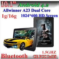 Wholesale Cheap Inch HD Tablet PC Allwinner A23 GHZ Bluetooth G G Dual Core Android Dual Camera Capacitive screen tablet pc