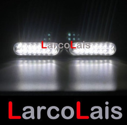 2x16 Car Truck Led Day Driving Fog Universal Lights Light 2 x 16 White DLCL8652