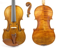 Wholesale The Harrison Amati Violin Geige CONCERTO Best Model Outstanding Antique varnish retail with bow case rosin