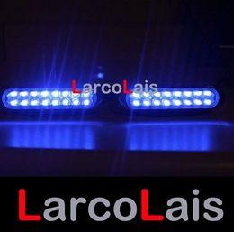 2x16 Car Truck Led Day Driving Fog Universal Lights Light 2 x 16 Blue DLCL8653