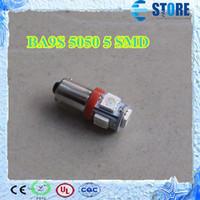 Wholesale LED Car Indicator Light Interior Bulbs Wedge Lamp LED Bulbs BA9S SMD wu
