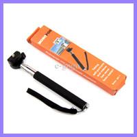 Wholesale Portable Handheld Flexible Telescopic Extendible Phone Monopod Tripod for Digital Camera Camcorder