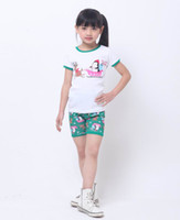 Girl Summer 18M,24M.3T.4T.5T.6T  Baby Pajamas 8021 Children Clothes Christmas Short Sleeve T-shirts+Shorts 2 Pcs Set Pajamas Kid Outfits