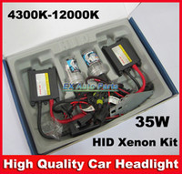 HID Conversion Kit H4 6000K Car HID Headlight Upgrade 35W HID Slim Conversion Xenon Kit Set H1 H3 H4 H6 H7 H8 H8 H10 H11 H13 9005 9006 9007 Auto Xenon Light 6000K