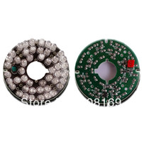 Wholesale 48 IR Leds Infrared IR Board for Security CCTV Camera Degrees camera LED board