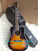 Hollow Guitar acoustic electric guitar - 2015 NEW Factory MRT D type electric acoustic guitar Sunburst D forty model acoustic electric guitar handmade acoustic guitar