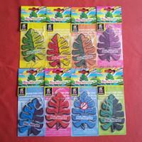 Wholesale New Leaf designs paper air freshener paper perfumed car air freshener mix color AF