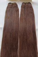 Wholesale 17 pieces AAA wefts amp i tip hair extensions top quality very thick bottom DHL