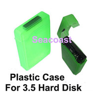 Wholesale Lowest Price For SATA IDE HDD Disk Drive Storage Case Green Plastic Inch PVC Case