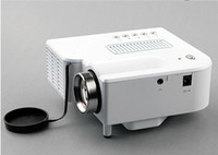 Wholesale LED Mini HDMI Projectors LCD UC28 Portable Projector VGA Cheapest Home Theater Proyector Beamer Remote control