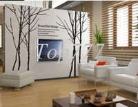 PVC olive tree - Olive tree large fashion branches sofa large home decal wall stickers GL