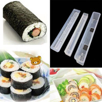 Sushi Molds Plastic other Details about Sushi Long Roll Rice Maker Japanese Mould Roller Bento Mold DIY Kitchen Tool New