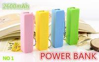 2600mAh Power Bank 2600mAh USB Power Bank портативный внешний зарядное устройство для iPhone5 4S 4 3G Samsung Galaxy батареи charger04
