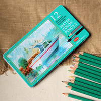 Wholesale 12 water soluble colored pencil doodle high quality pencil