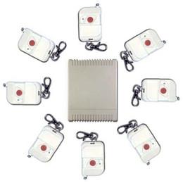 Control remoto 315 en Línea-Nuevo 8 canales 315 / 433MHz DC 9V / 12V / 24V conmutador remoto inalámbrico - 8 transmisores a 1 receptor