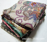 Wholesale Foreign trade last winter hot single stitching knitted scarf scarves Korea Yiwu factory direct mixed batch