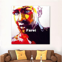 Wholesale Sports Man Oil Painting Style Home Decoration Wall Paintings Art Pictures on UV Prints for Kitchen Dining Room Bed Room x18cm