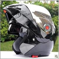 Wholesale New Arrivals Best Sales Safe Flip Up Motorcycle Helmet With Inner Sun Visor Everybody Affordable JIEKAI