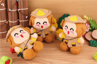 Universal Emergency Chargers  5 pcs Plush monkey toy mobile power 2200 mah portable emergency charger very lovely power bank for iphone ipad all the cellphones.