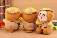 Universal Emergency Chargers  50 pcs Plush monkey toy mobile power 2200 mah portable emergency charger very lovely power bank for iphone ipad all the cellphones.