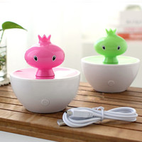 Wholesale Creative Color Pomegranate MINI USB Humidifier Portable Air Fresher Purifier Humidifier Home Decoration SH318