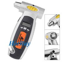 Wholesale 4in1 Emergency Utility Tyre Tread Depth Pressure Measure LCD Display Digital Tire Gauge Reader Tool