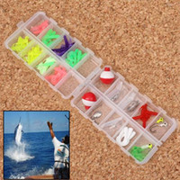 Cheap Brand New Fishing Worms Lure Bait Case Soft Plastic Tail Worms Lure Fishing Bait Suit Box