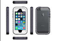 thin Durable Dirt Proof WaterProof Case For Iphone 5 5S 5C