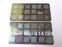 Wholesale 16designs plates for Nail Art Image Stamping Template TO series