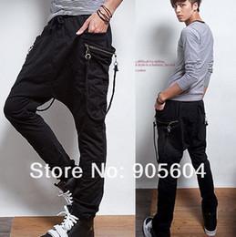 Wholesale Fashion Men s Casual Sporty Hip Hop Dance Harem Baggy Sport Sweat Pants Trousers Slack for Men s Jeans Sportswear