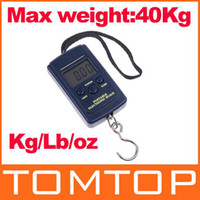 Cheap 15pcs lot Lage Fishing Weight Digital Scale 20g 40kg , freeshipping wholesale