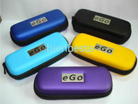 Electronic Cigarette ego bag  eGo Electronic Cigarette Cases Bags with Zipper Electronic Cigarettes E Cigs S M L Sizes 10 Colors Fashion Design in Stock cheap