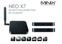 Wholesale MINIX NEO X7 Android MINI PC TV box TV Stick Quad Core G RAM G ROM Andorid TV Dongle RK3188 Android Z267