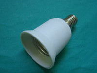 Wholesale 10pcs E14 to E27 LED Light Bulb Lamp Socket Adapter Holder Converter M239