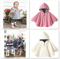 Wholesale Combi Baby Coats Girl s Smocks Ourerwear Fleece cloak Jumpers mantle Children s Poncho Cape